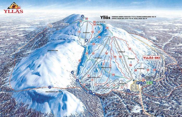 Лучшие горнолыжные курорты Финляндии