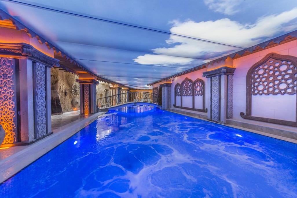 Отели в Турции, которые имеют бассейны с подогревом