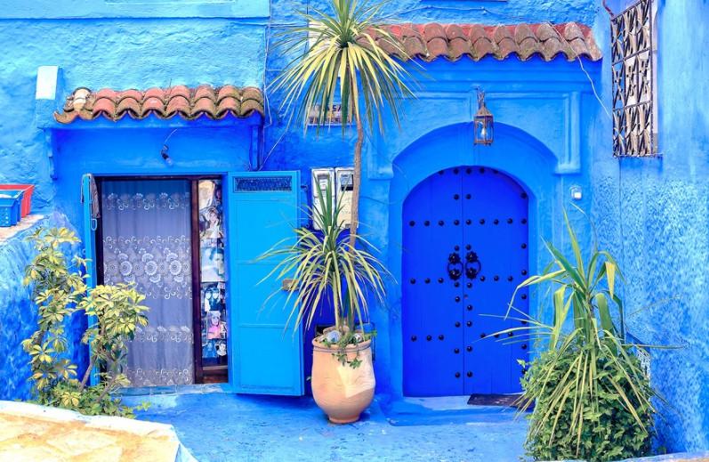 Шефшауэн: потрясающий голубой город Марокко