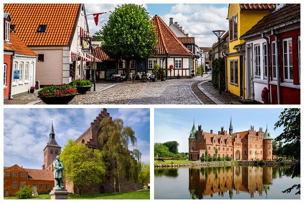 12 лучших городов для посещения в Дании